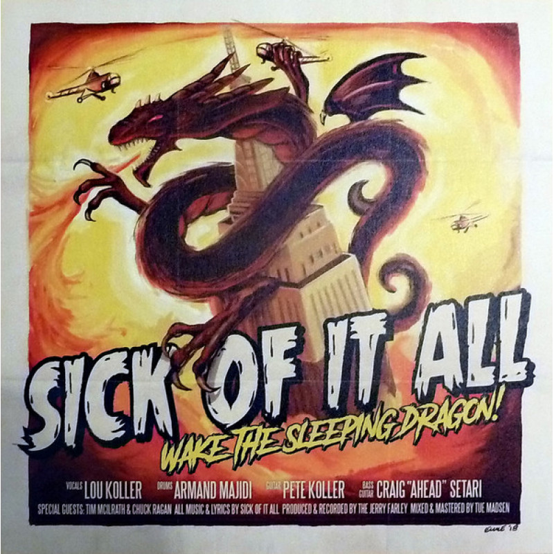 Sick Of It All ‎– Wake The Sleeping Dragon!