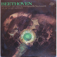 Vlach Quartet - Beethoven String Quartets, Opus 18, Nos. 1 and 6