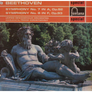 Leipzig Gewandhaus Orchestra, Franz Konwitschny - Beethoven Symphonys Nos. 7 in A, Opus 92  and 8 in F, Opus 93