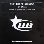 The Three Amigos - 25 miles