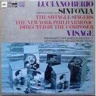 Luciano Berio / The New York Philharmonic - Sinfonia / Visage