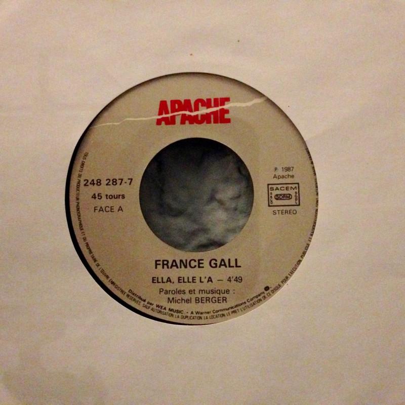 France Gall - Ella, ella L'A / Dancing brave