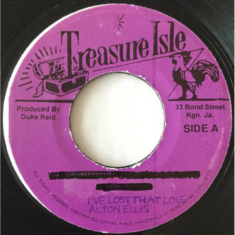 Alton Ellis – I've Lost That Love / Diana