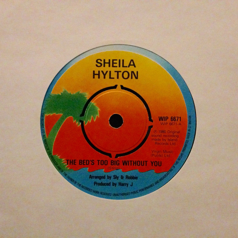Sheila Hylton The bed`s too big without you / Give me your love
