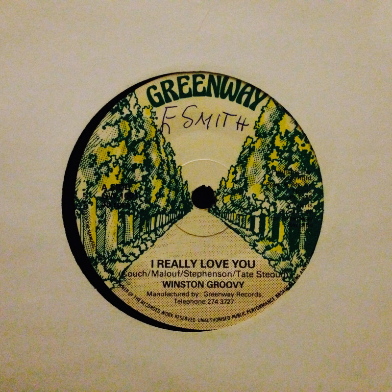 Winston Groovy I really love you / Did`nt you know